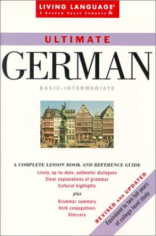 9780609806807: German Ultimate Basic: Manual Only (Living Language Series)