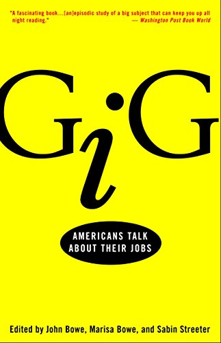 9780609807071: Gig: Americans Talk About Their Jobs