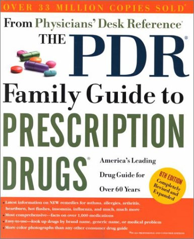 9780609807668: The Pdr Family Guide to Prescription Drugs 8th Ed