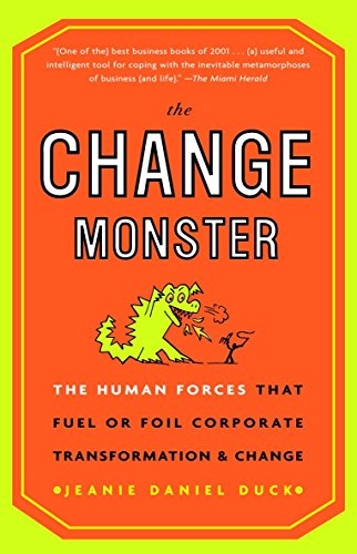 9780609808818: The Change Monster: The Human Forces That Fuel or Foil Corporate Transformation and Change