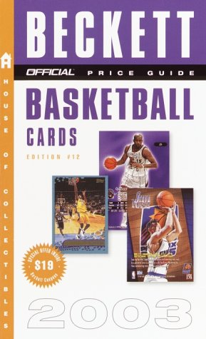 9780609809846: The Official Price Guide to Basketball Cards 2003 Edition #12