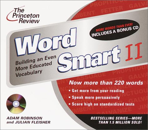 9780609811085: The Princeton Review Word Smart II CD: Building an Even More Educated Vocabulary