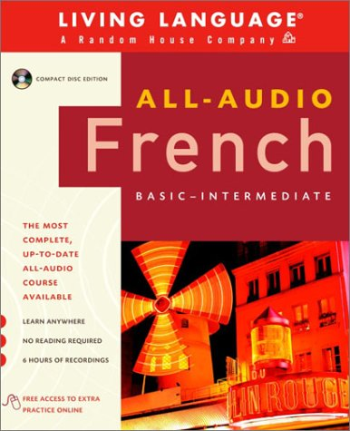 9780609811245: All-Audio French: Compact Disc Program (All-Audio Courses)