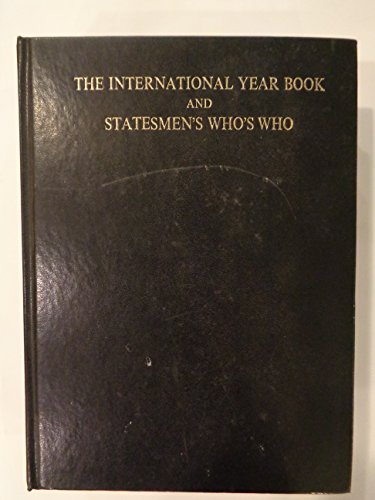 International Year Book and Statesmen's Who's Who