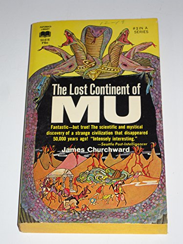 9780610546167: The Lost Continent of Mu