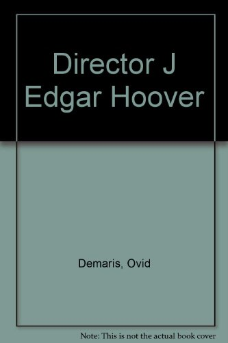 9780612195172: Director J Edgar Hoover