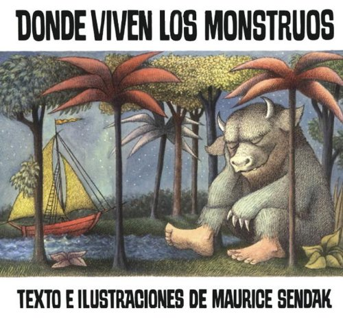9780613002295: Donde viven los monstruos/ Where the Wild Things Are