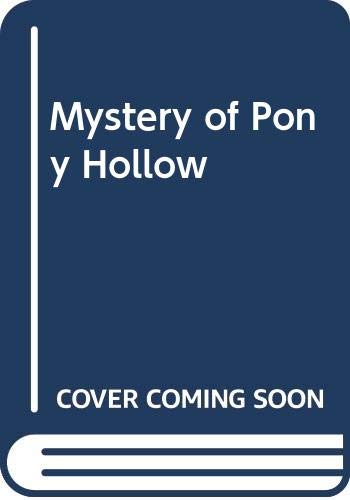 9780613014779: Mystery of Pony Hollow