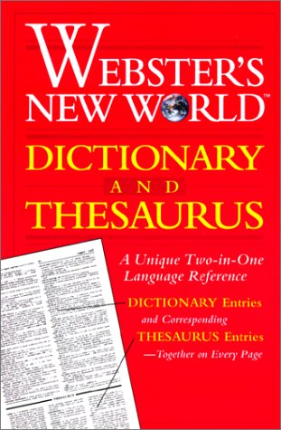 9780613015974: Webster's New World Dictionary and Thesaurus