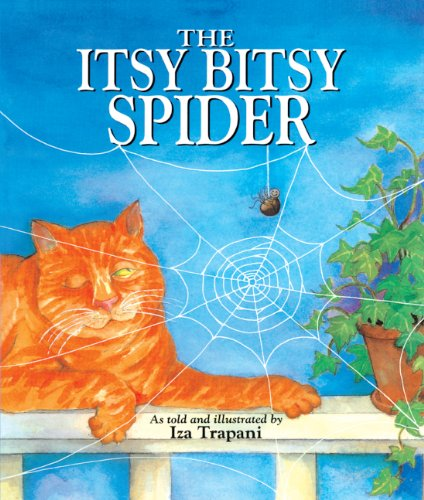 The Itsy Bitsy Spider (Turtleback School & Library Binding Edition): Iza Trapani