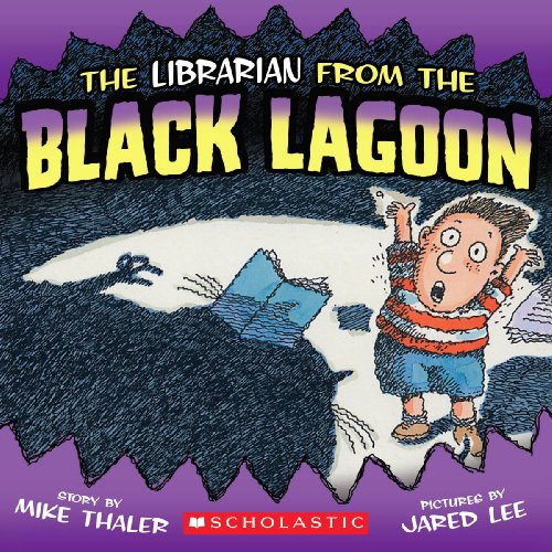 9780613034609: The Librarian From The Black Lagoon (Turtleback School & Library Binding Edition)