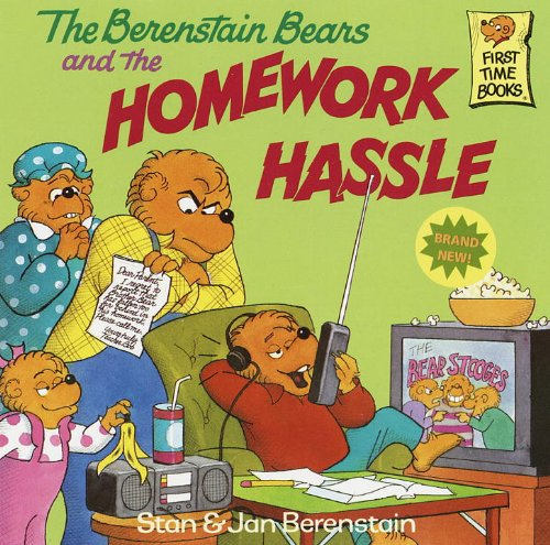 The Berenstain Bears And The Homework Hassle (Turtleback School & Library Binding Edition) (Berenstain Bears First Time Chapter Books (Prebound)) (9780613045865) by Jan; Stan Berenstain
