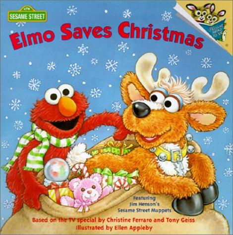 9780613049290: Elmo Saves Christmas (Sesame Street)