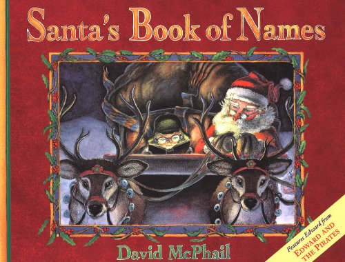 Santa's Book of Names (0613058267) by David M. McPhail