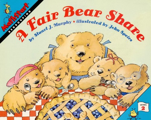 9780613077446: A Fair Bear Share (Turtleback School & Library Binding Edition) (Mathstart: Level 2 (Prebound))