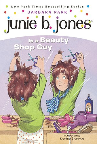 9780613081634: Junie B. Jones Is A Beauty Shop Guy (Turtleback School & Library Binding Edition)