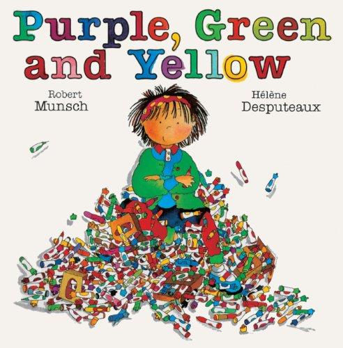 9780613085946: Purple, Green And Yellow (Turtleback School & Library Binding Edition)