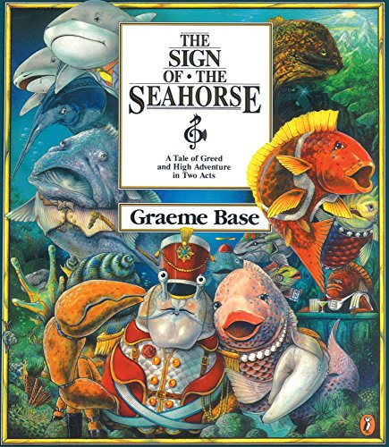 9780613087551: Sign of the Seahorse: A Tale of Greed and High Adventure in Two Acts (Picture Puffin Books)