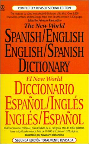 9780613094337: Diccionario español/inglés, inglés/español: New World
