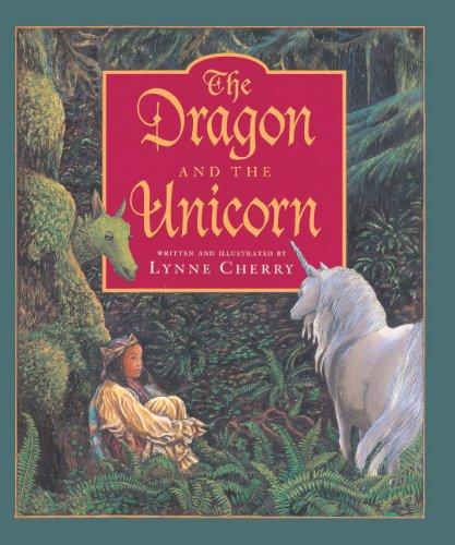 The Dragon And The Unicorn (Turtleback School & Library Binding Edition): Cherry, Lynne