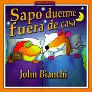 9780613104685: Sapo Duerme Fuera De Casa/Toad Sleeps over