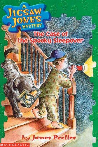 The Case Of The Spooky Sleepover (Turtleback School & Library Binding Edition) (Jigsaw Jones ...