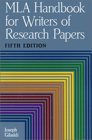 9780613181983: MLA Handbook for Writers of Research Papers