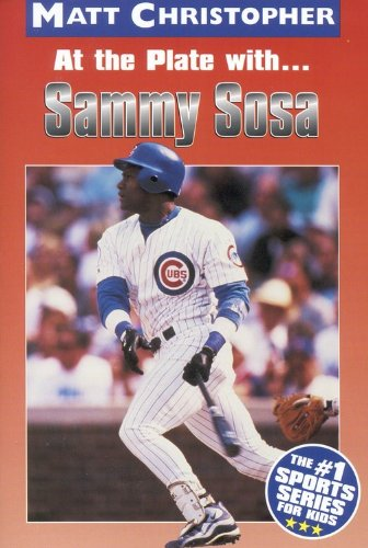 9780613211437: At The Plate With Sammy Sosa (Turtleback School & Library Binding Edition) (Athlete Biographies)
