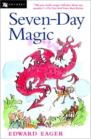 9780613223638: Seven-Day Magic (Turtleback School & Library Binding Edition)