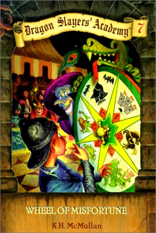 9780613226165: Wheel of Misfortune (Dragon Slayers' Academy (Prebound))