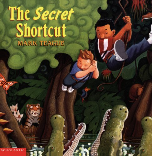 The Secret Shortcut (Turtleback School & Library Binding Edition) (0613229320) by Teague, Mark