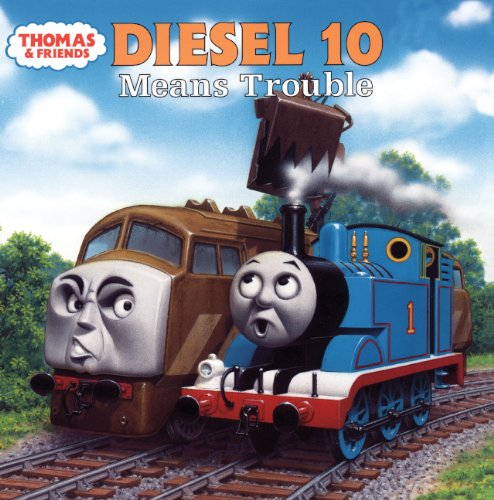 9780613248303: Diesel 10 Means Trouble (Turtleback School & Library Binding Edition) (Thomas and the Magic Railroad)