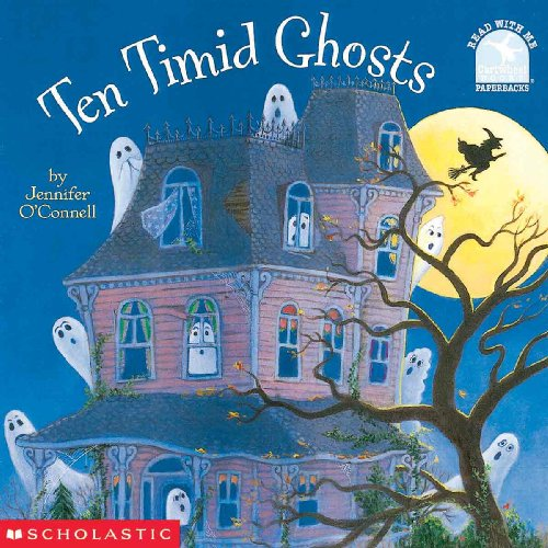 9780613271974: Ten Timid Ghosts (Read with Me Cartwheel Books (Pb))