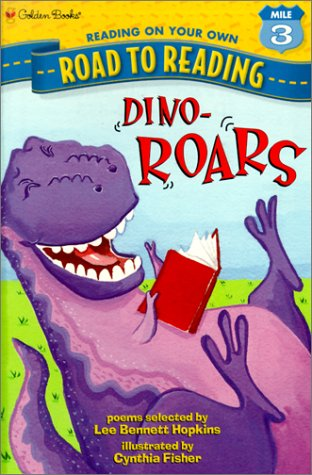 9780613277921: Dino-ROARS (Road to Reading Mile 3 (Reading on Your Own)
