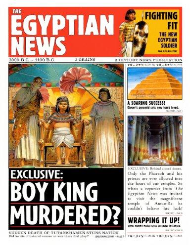 The Egyptian News (Turtleback School & Library Binding Edition): Steedman, Scott