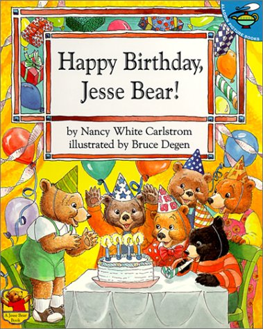 Happy Birthday Jesse Bear -Lib (0613285158) by Carlstrom, Nancy White