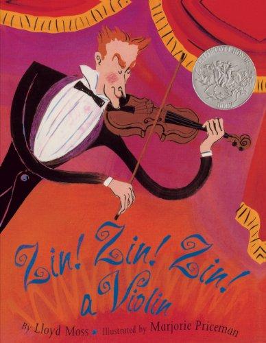9780613287128: Zin! Zin! Zin! A Violin (Turtleback School & Library Binding Edition)