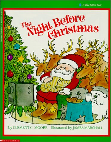 9780613298315: Night Before Christmas (Blue Ribbon Book)