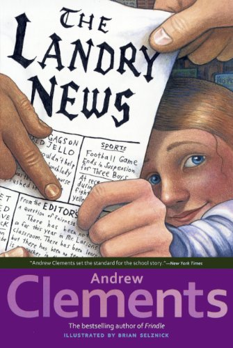 The Landry News (Hardback): Andrew Clements