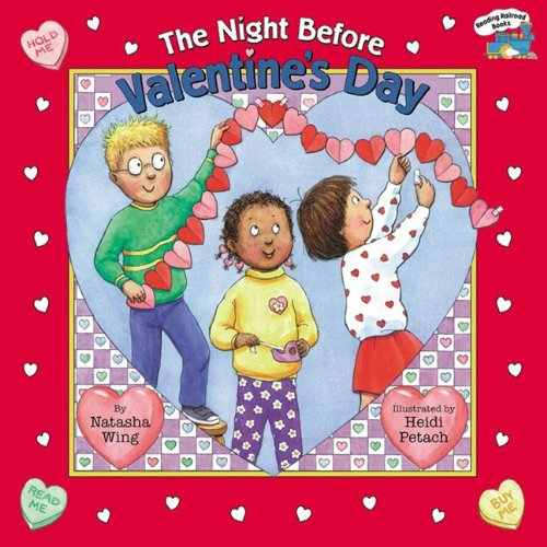 9780613315272: The Night Before Valentine's Day (Reading Railroad Books)