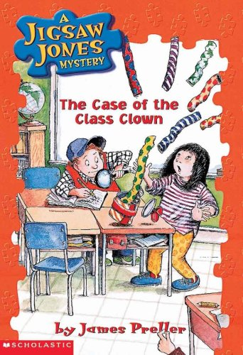 The Case Of The Class Clown (Turtleback School & Library Binding Edition) (Jigsaw Jones ...