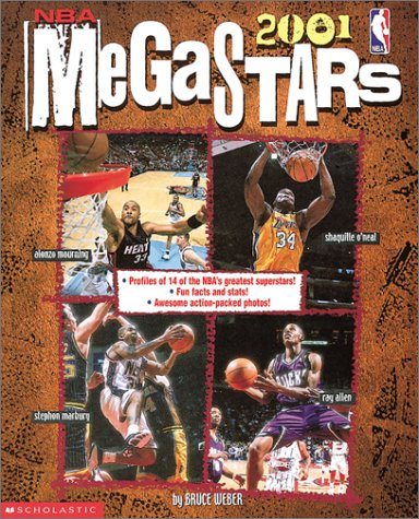 Megastars 2001 (NBA) (9780613328739) by Weber, Bruce