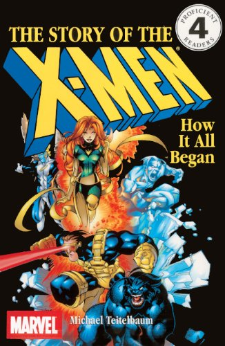 9780613331098: The Story of the X-Men: How It All Began (DK Readers: Level 4 (Pb))