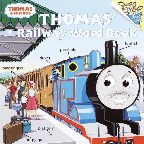 9780613331401: Thomas' Railway Word Book