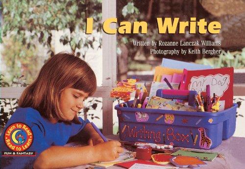 I Can Write (Turtleback School & Library Binding Edition): Williams, Rozanne L.