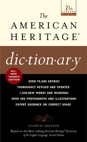 9780613361743: The American Heritage Dictionary (Turtleback School & Library Binding Edition)