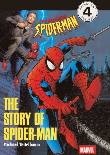 The Story Of Spider-Man (Turtleback School & Library Binding Edition) (DK Readers: Level 4 (Pb)...