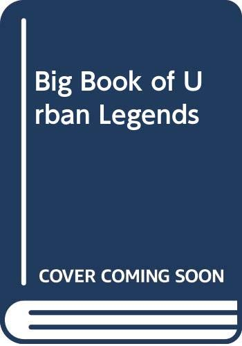 9780613522489: Big Book of Urban Legends
