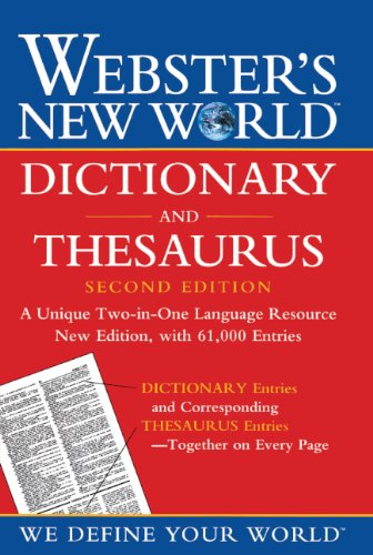 9780613534406: Webster's New World Dictionary And Thesaurus (Turtleback School & Library Binding Edition)