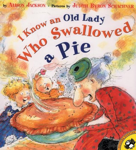I Know An Old Lady Who Swallowed: Jackson, Alison